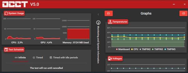 OVERCLOCK CPU STRESS TEST