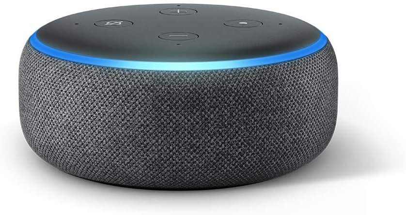2 Alexa Smart Speaker Echo Dot 3rd Gen With Charcoal