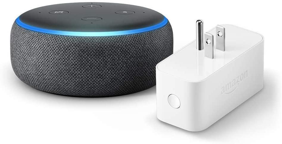 3 Alexa Smart Speaker Echo Dot 3rd Gen With Bundles