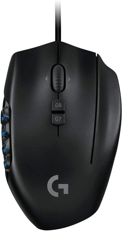 Logitech G600 MMO Gaming Mouse RGB Backlit