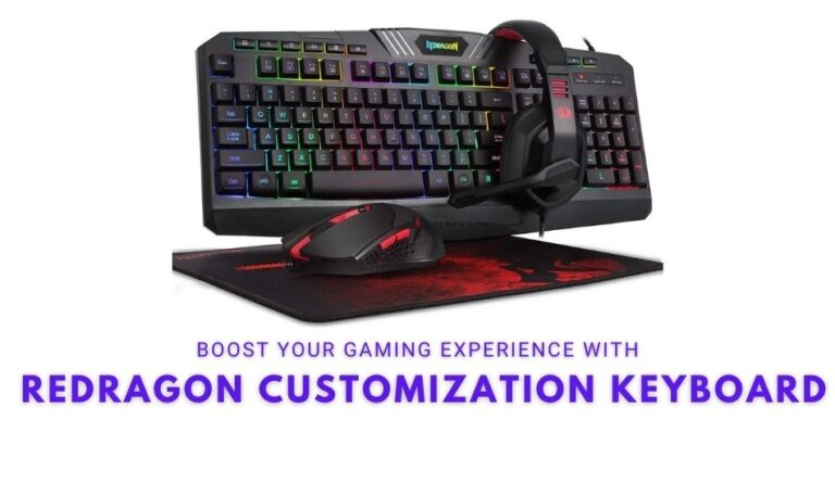 Redragon Customization Keyboard