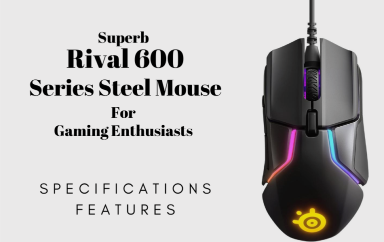 Series Steel Mouse