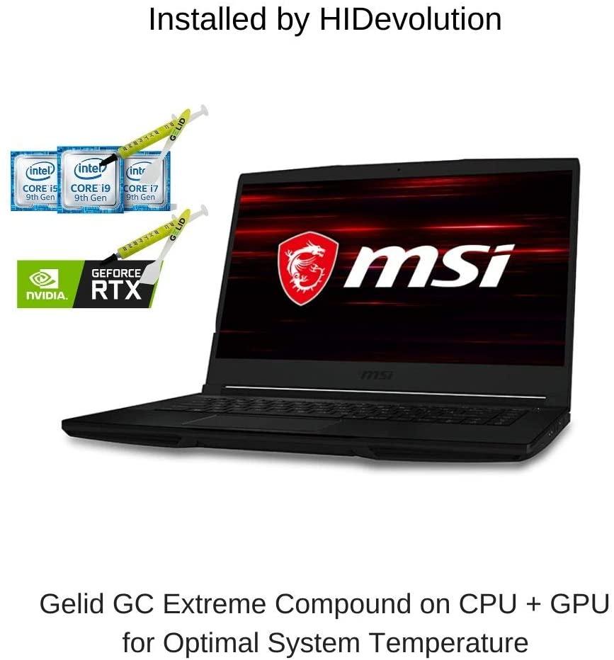 HIDevolution MSI GF63 Thin 9SCX 15.6