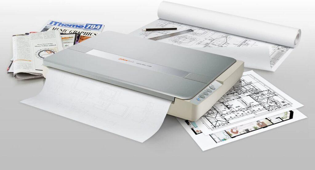 Plustek A3 Flatbed Scanner