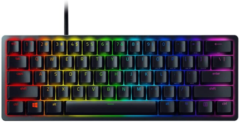 Razer Huntsman Mini 60% Gaming Keyboard Feature Image