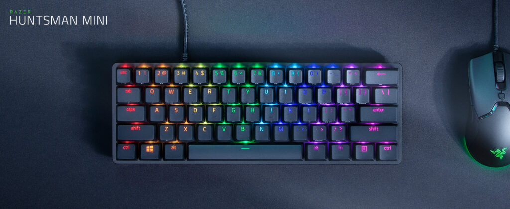 Razer Huntsman Mini 60% Gaming Keyboard Image 2