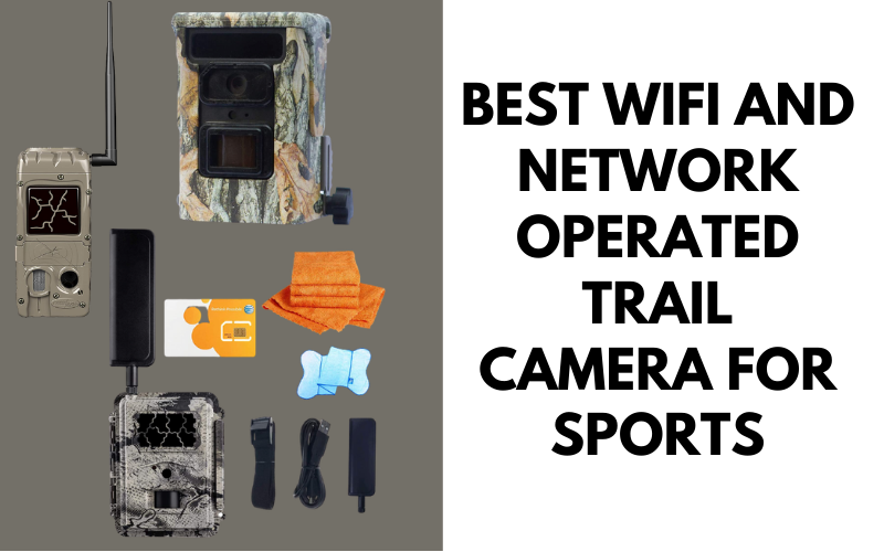 Best WIFI And Network Operated Trail Camera For Sports