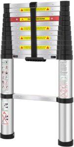 WolfWise Aluminum Telescopic Ladder