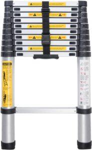 WolfWise Aluminum Telescopic Ladder 2