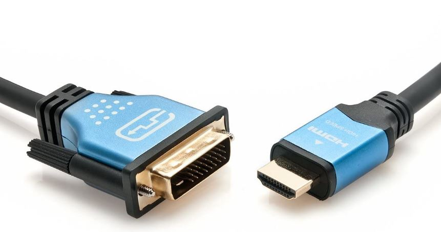 BlueRigger HDMI To DVI Adapter Cable