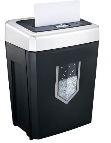 Bonsaii 14-Sheet Cross-Cut Heavy Duty Paper Shredder, 30-Minute Continuous Running Time, Credit Card/Staples Shredders for Office, Quiet Shredding Machine...