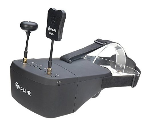 EACHINE EV800D FPV Goggles With DVR 5.8G 40CH 5 Inch 800x480 Diversity Video Headset Build In Battery