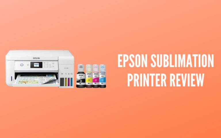 Epson Sublimation Printer Review