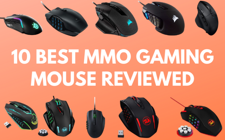 10 Best MMO Gaming Mouse Reviewed