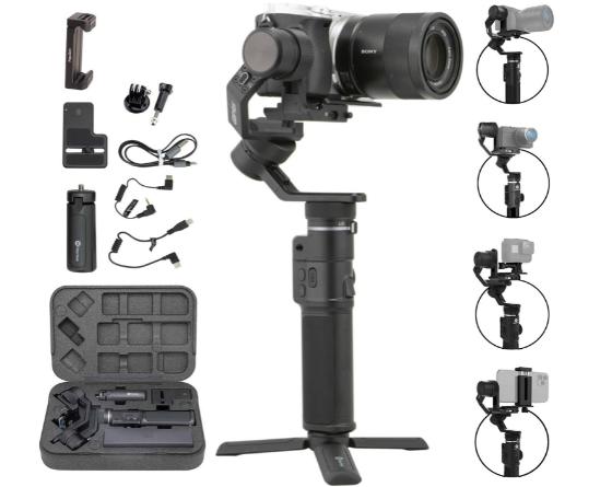 FeiyuTech G6 Max 3 Axis Handheld Gimbal Stabilizer