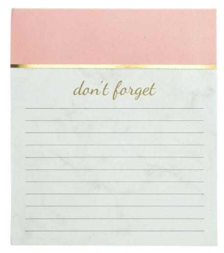 Graphique Blush Pink Jotter Notepad