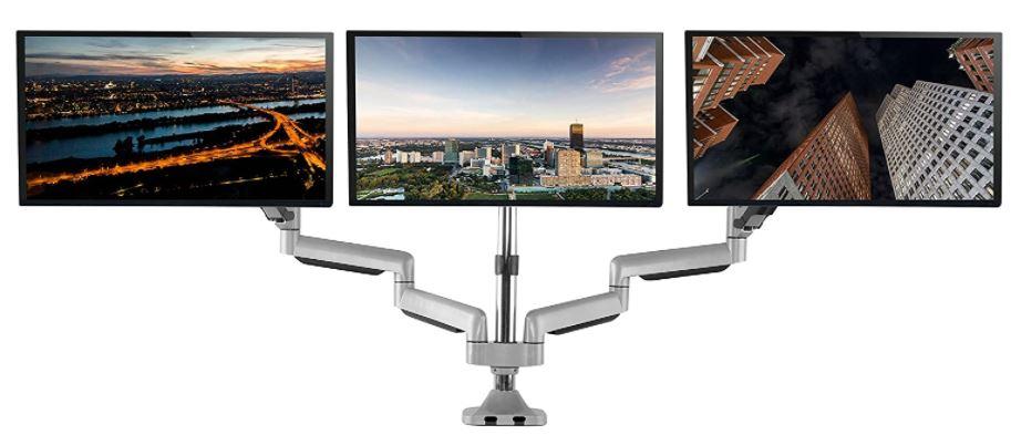 TechOrbits Triple Monitor Stand